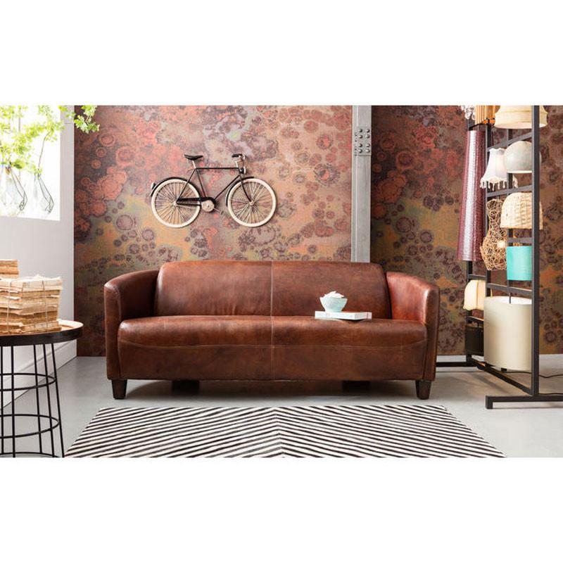 bank van bruin leer kare design cigar lounge. Black Bedroom Furniture Sets. Home Design Ideas