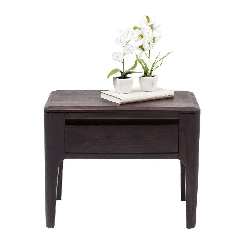 bijzettafel kare design brooklyn walnut. Black Bedroom Furniture Sets. Home Design Ideas