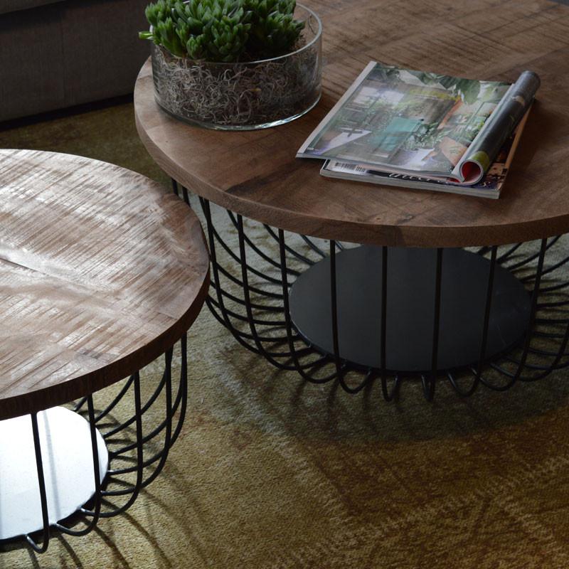 Brix eva salontafels met rond design onlinedesignmeubel for Salontafel rond design