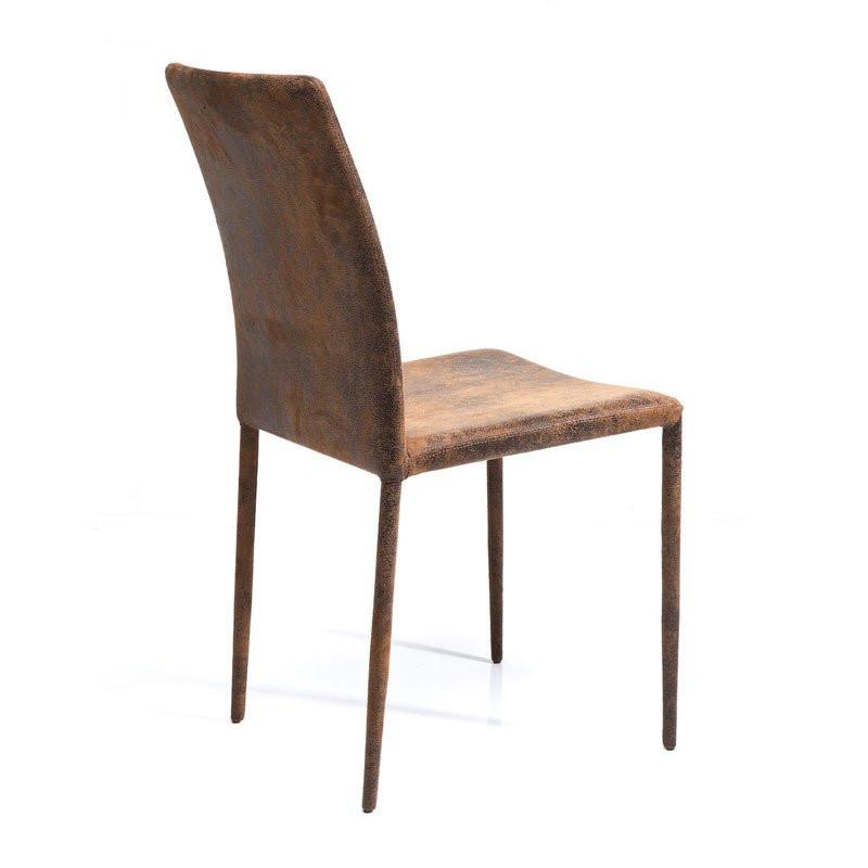 Bruine designstoel milano vintage for Design vintage milano