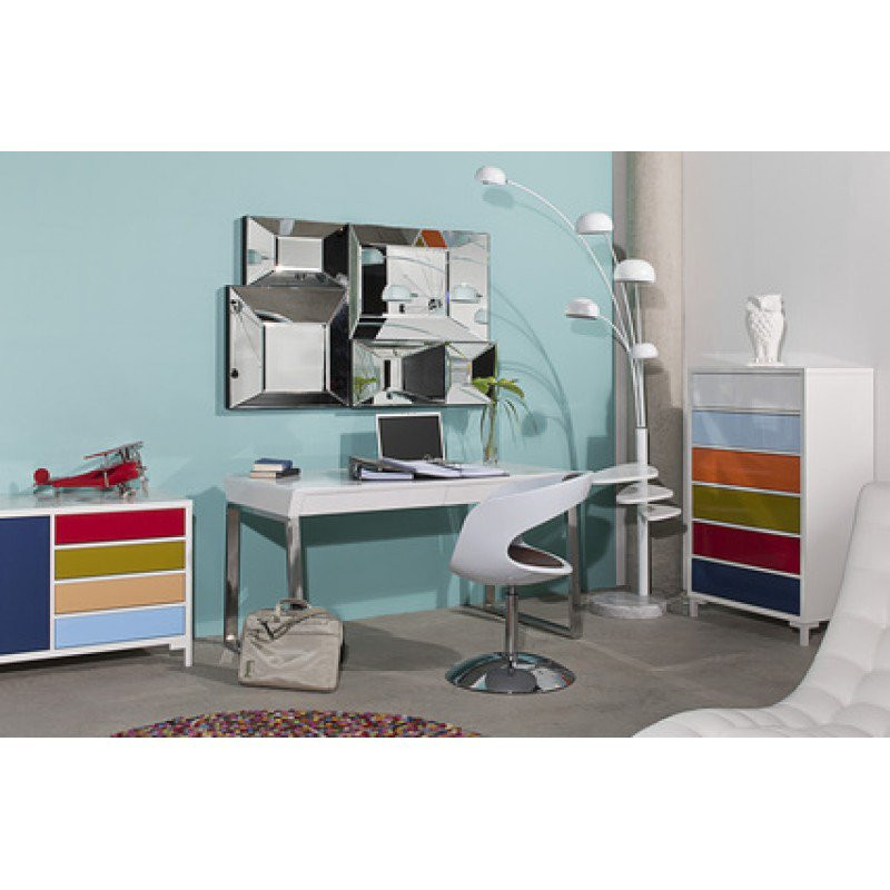 Bureau met laden solution kopen for Bureau kare design