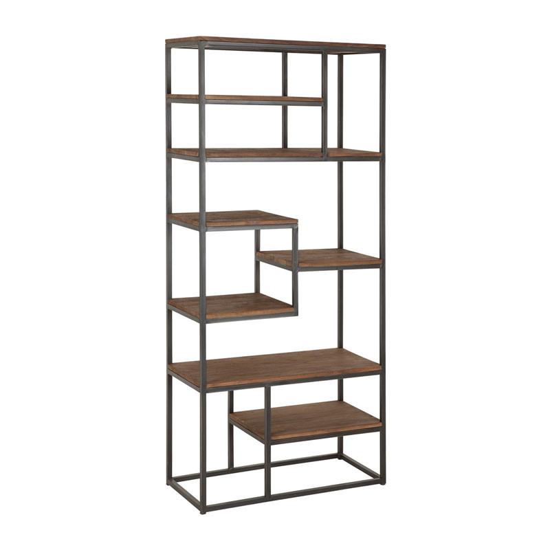 D bodhi fendy industriele boekenkast onlinedesignmeubel - Boekenkast hout en ijzer ...