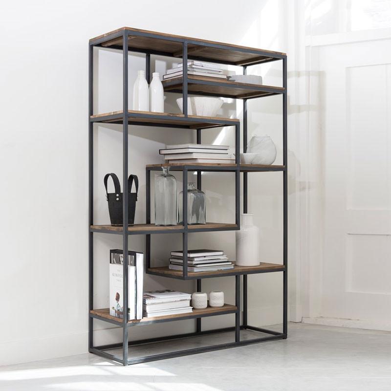 d bodhi fendy open boekenkast van hout onlinedesignmeubel