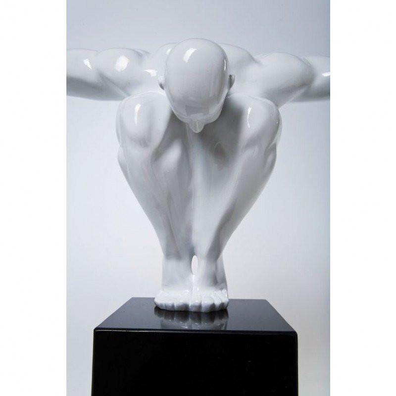 Deco beeld athlete wit bestellen - Deco wit ...