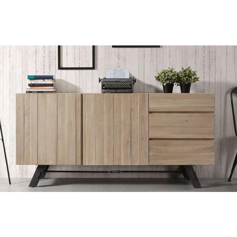 Design dressoir hout vita 160 bestellen for Dressoir design