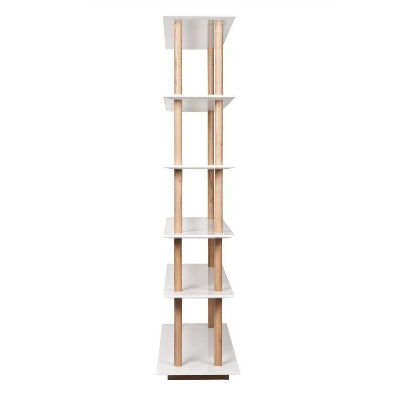 Boekenkast zuiver high on wood for Boekenkast design