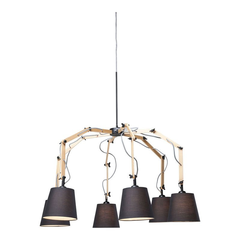 Design hanglamp hout Architecture   Onlinedesignmeubel.nl