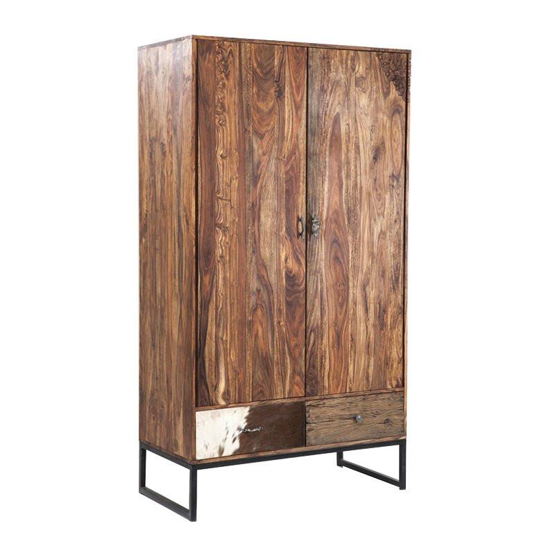Design kledingkast van hout kare design rodeo - Designer kledingkast ...