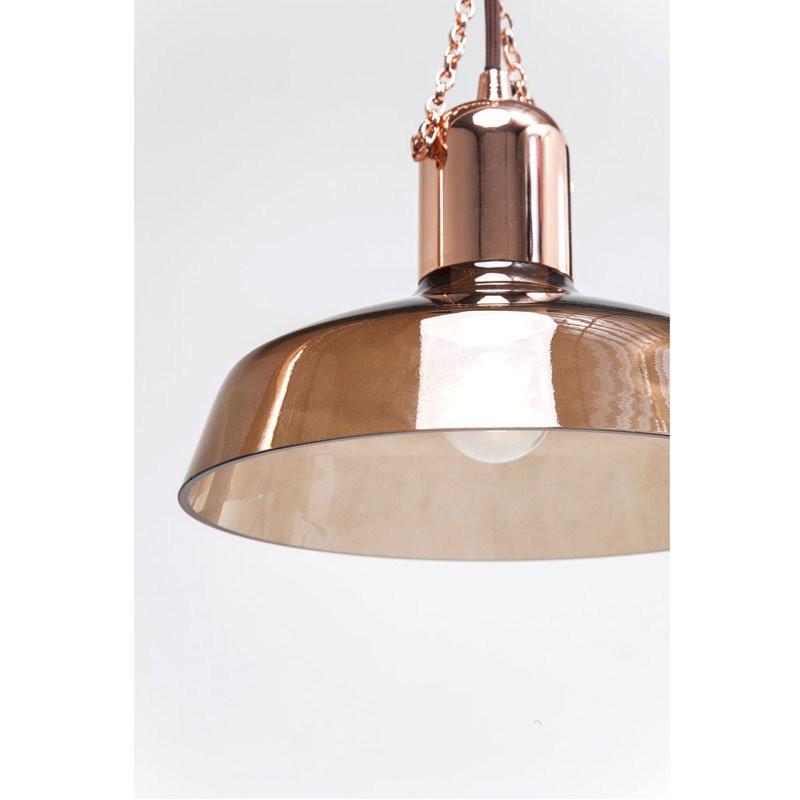 eettafel hanglamp koper cappa tre onlinedesignmeubel