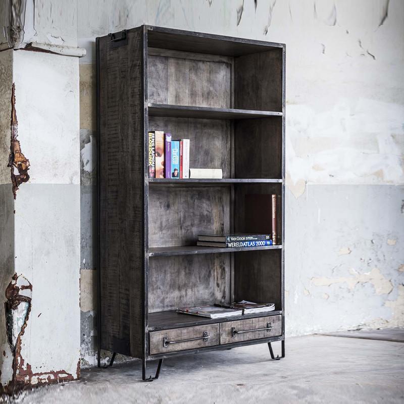 industriele boekenkast giani tor