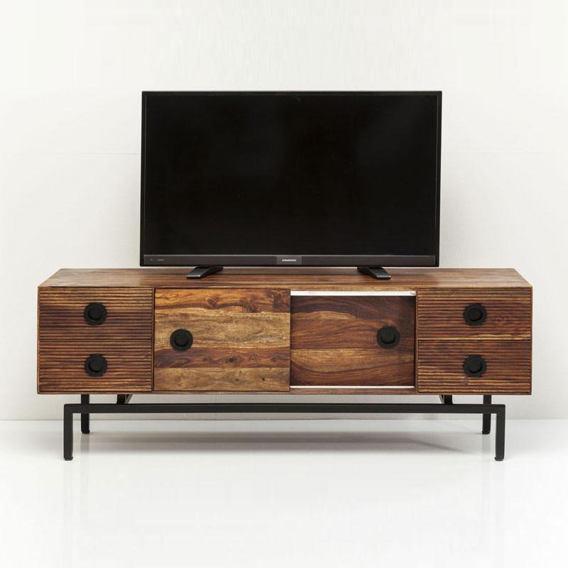 Houten tv meubel kare design estria - Houten meubels ...