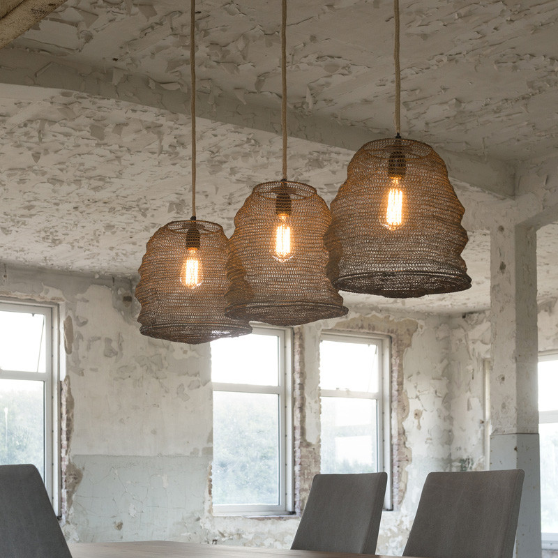 Industriele hanglamp santa ovaro for Lampen 4 you
