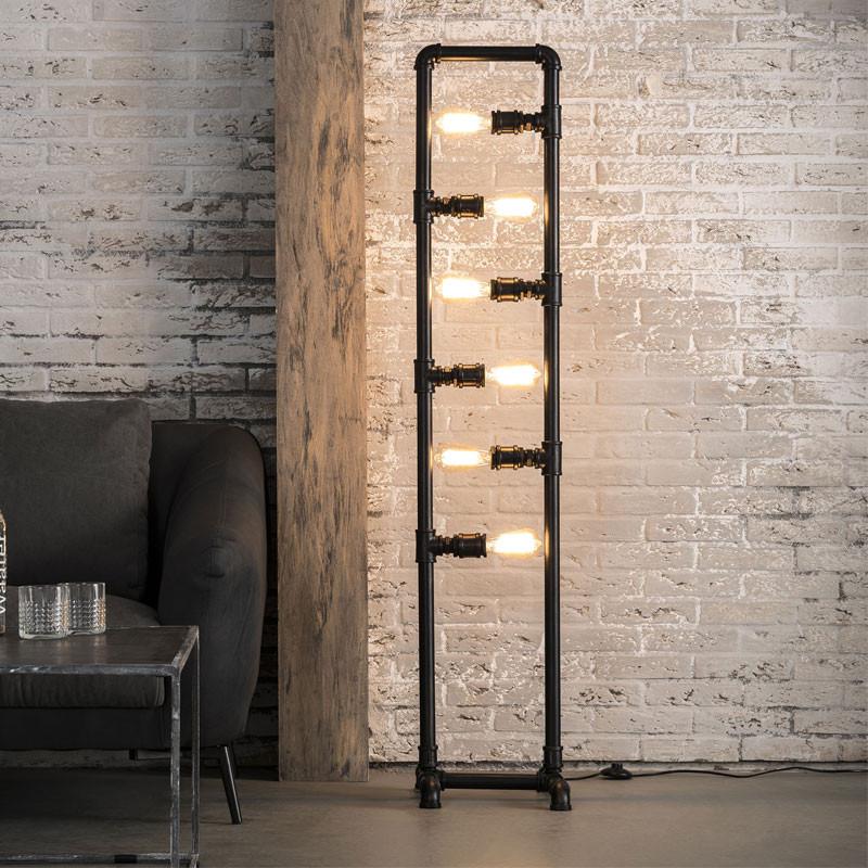 Industriele vloerlamp santa argus for Industriele vloerlamp