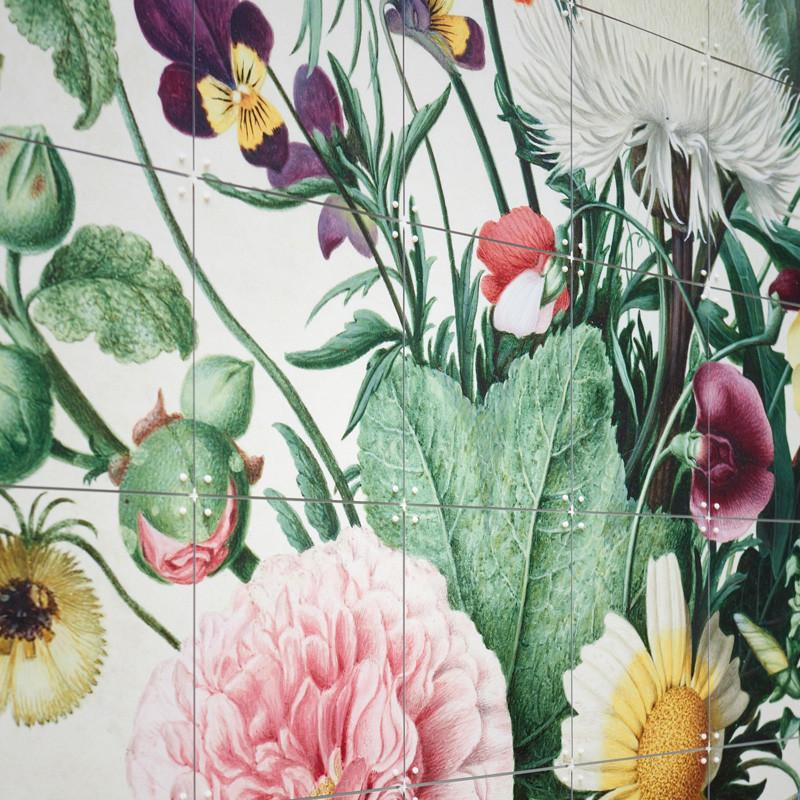 ixxi bouquet of flowers wanddecoratie boeket bloemen lumz