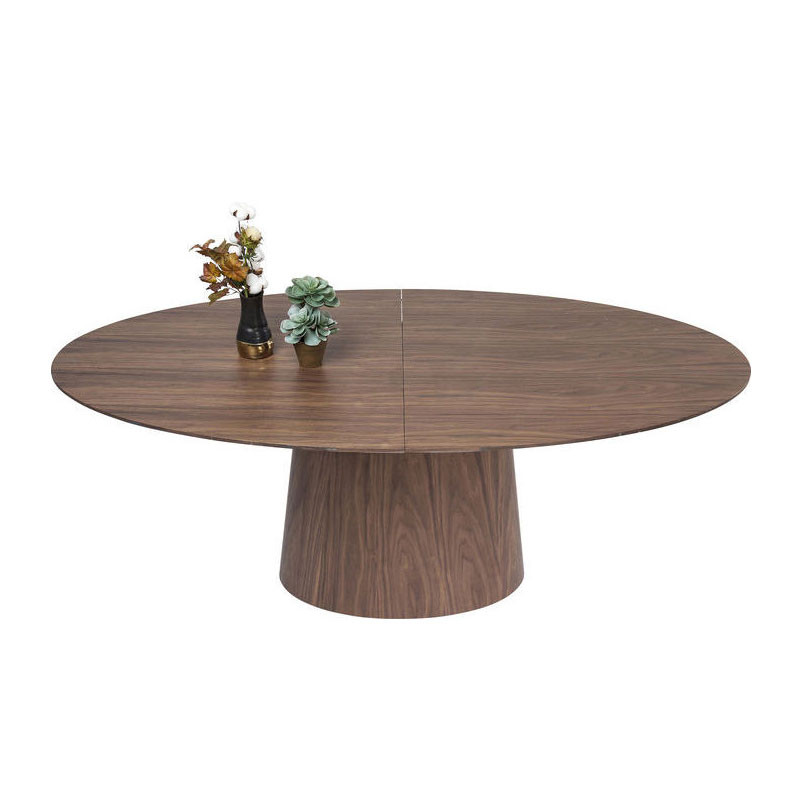 kare design benvenuto verstelbare ronde eettafel lumz On ronde design eettafel