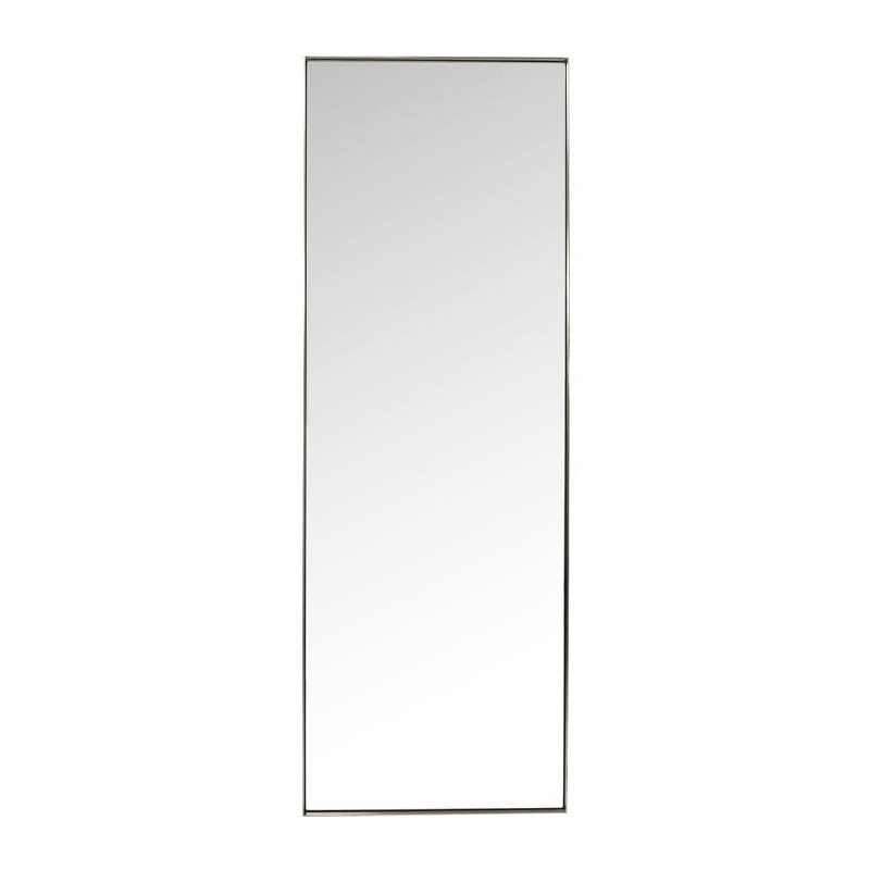 kare design curve stalen design spiegel van 200 cm lumz. Black Bedroom Furniture Sets. Home Design Ideas