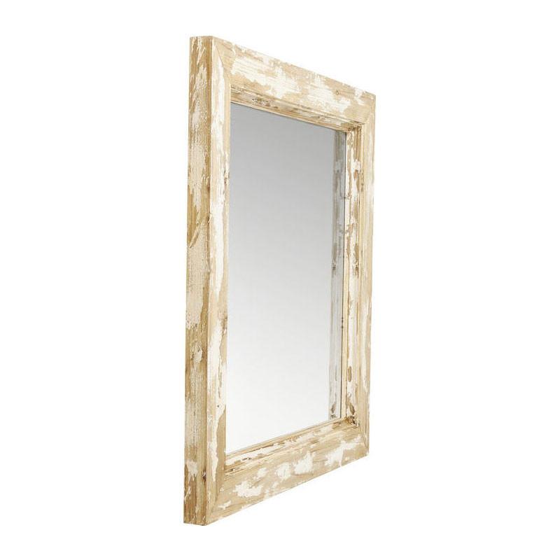 kare design fusion barock vierkante spiegel met hout lumz. Black Bedroom Furniture Sets. Home Design Ideas