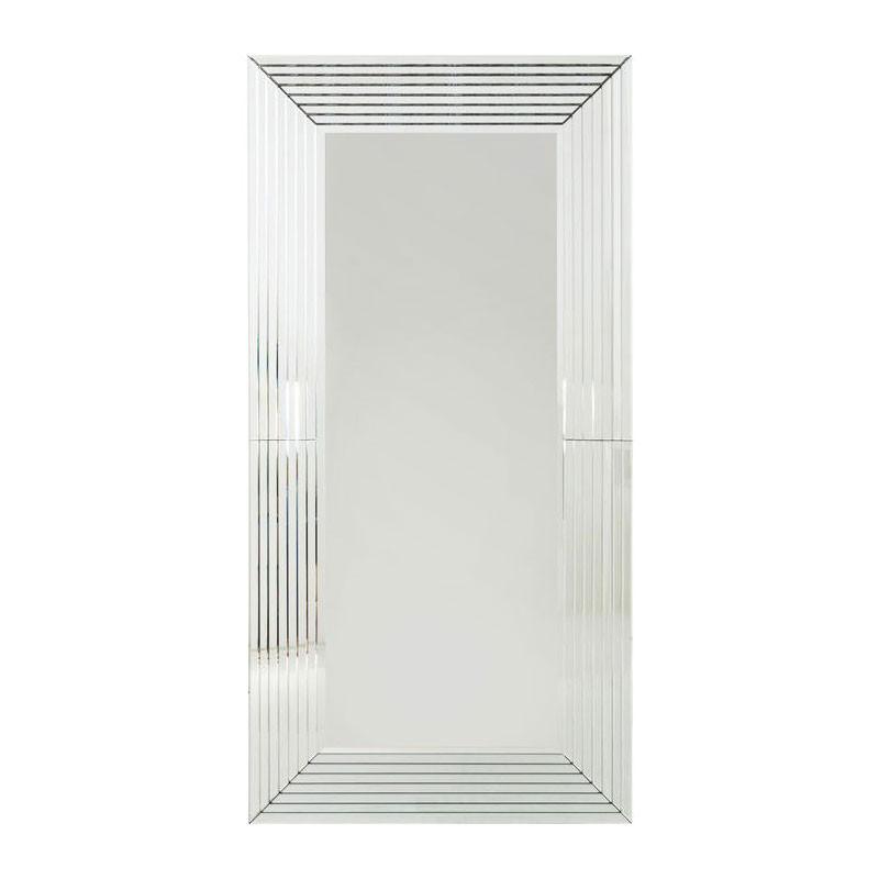 kare design linea spiegel met glazen lijst lumz. Black Bedroom Furniture Sets. Home Design Ideas