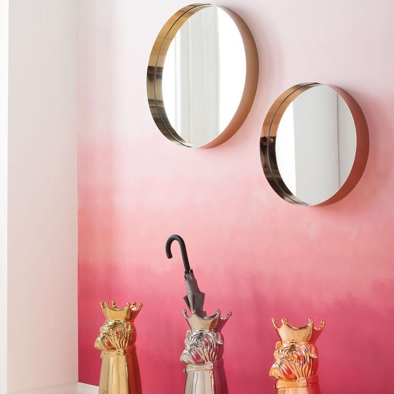 ronde spiegel 61 cm kare design luna. Black Bedroom Furniture Sets. Home Design Ideas
