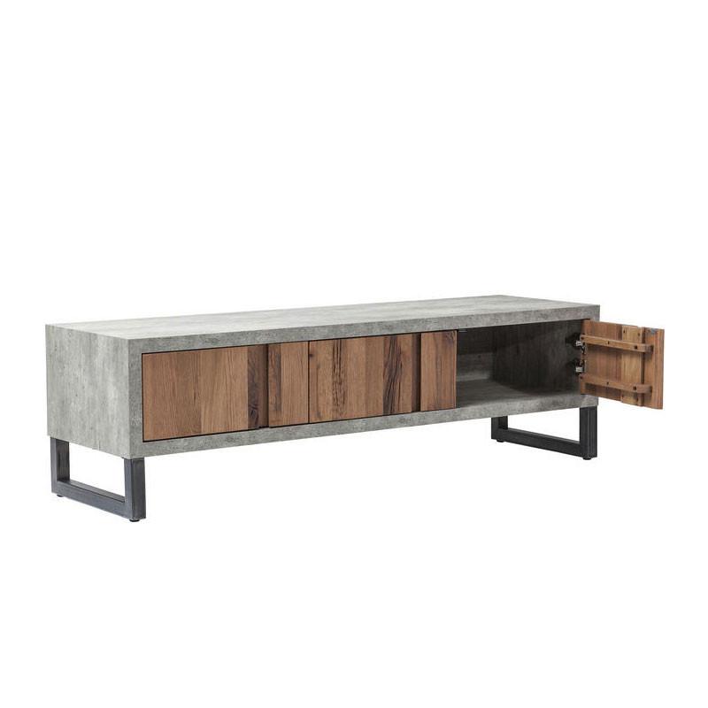 Kare design seattle industrieel tv meubel lumz for Modern tv meubel design