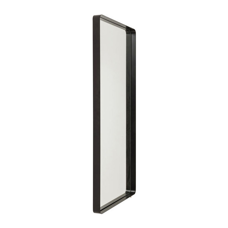Kare design shadow soft spiegel met zwarte lijst 120 cm for Spiegel zwarte lijst