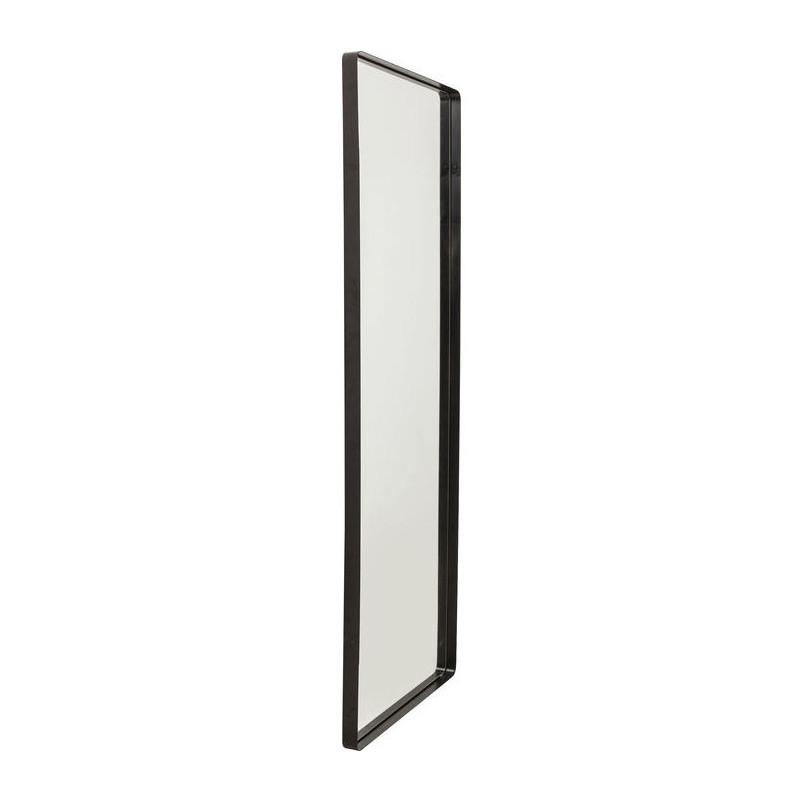 Kare design shadow soft spiegel met zwarte lijst 200 cm for Spiegel met zwarte lijst