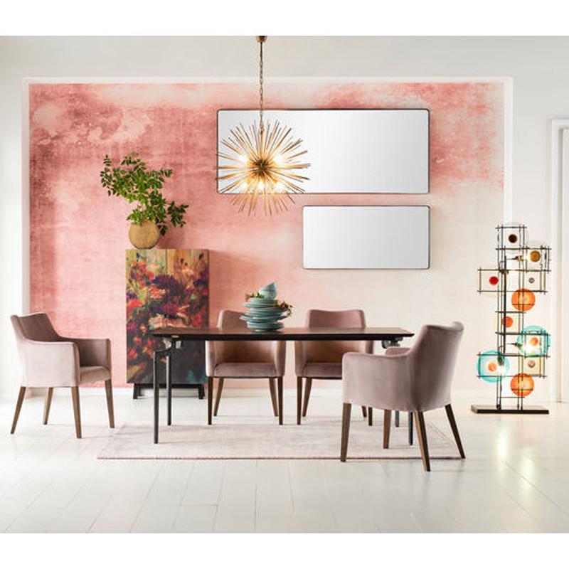 kare design shadow soft spiegel met zwarte lijst 200 cm. Black Bedroom Furniture Sets. Home Design Ideas