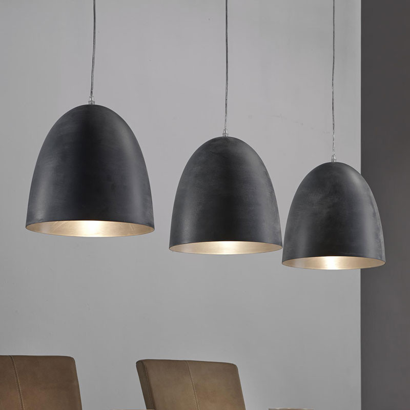 koperen design hanglamp santa tevo