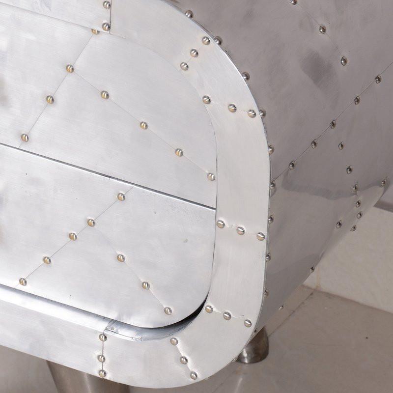 Nachtkastje metaal lavis fem 2l - Metalen nachtkastje ...