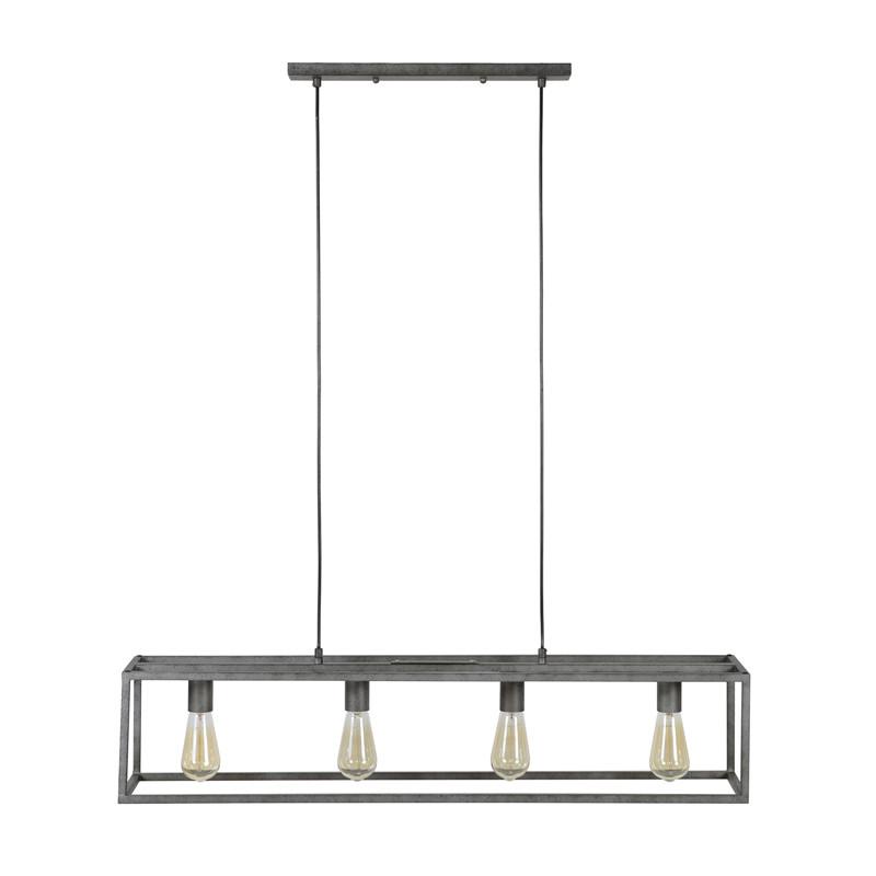 Zeer Metalen hanglamp rechthoek | Santa Mona | LUMZ LU51