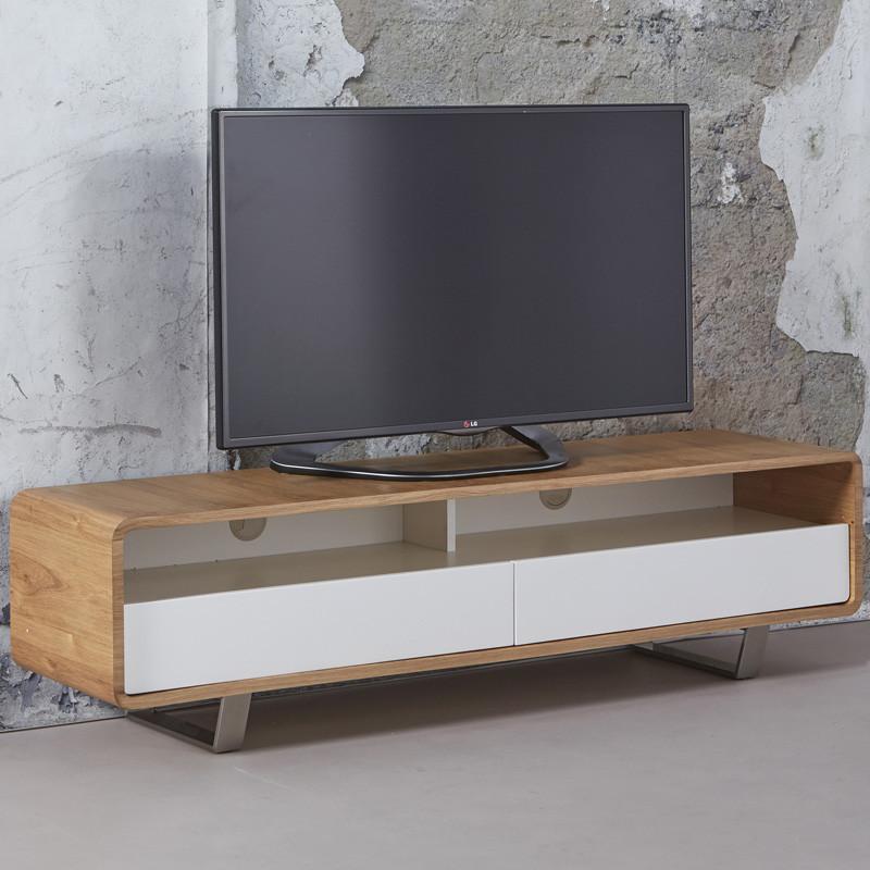 Modern tv meubel hout giani nola for Modern tv meubel design