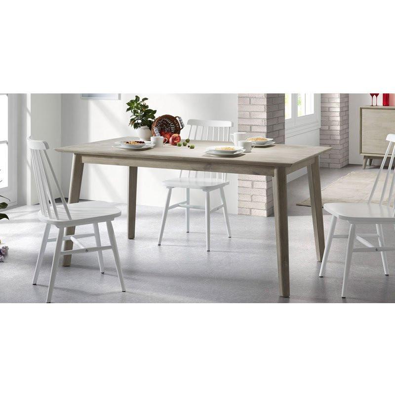 Eettafel hout interieur meubilair idee n - Moderne eettafels ...