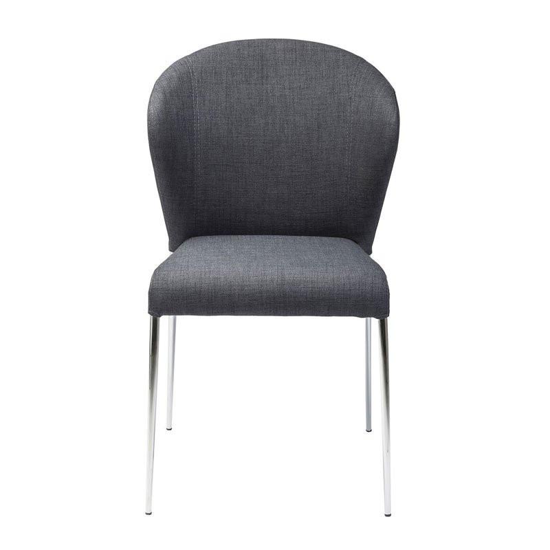 Moderne design stoel pulpo grijs - Moderne stoffering ...