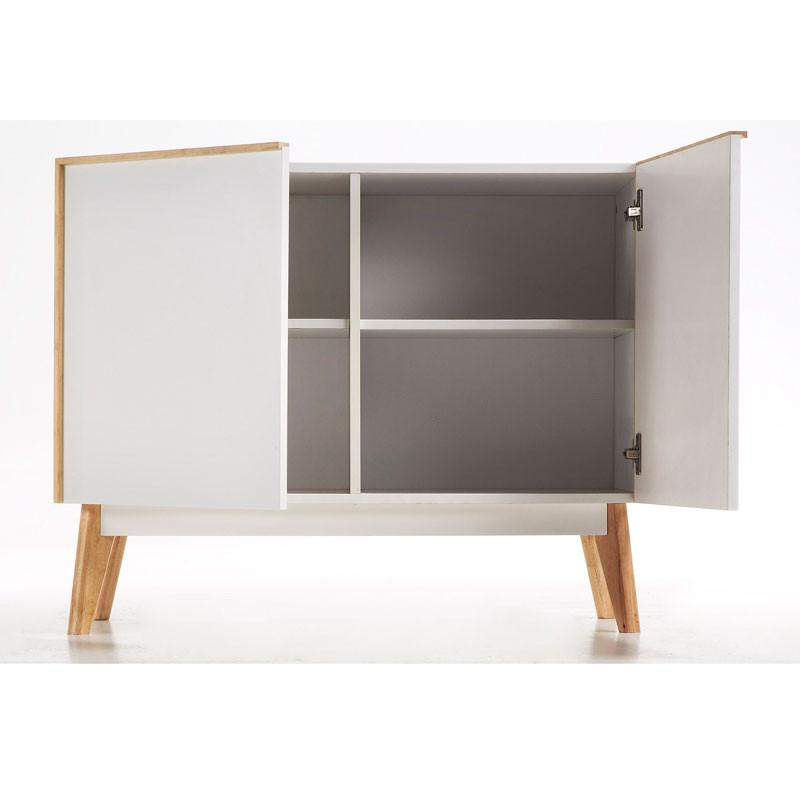 Moderne kast 2-deurs - Kave Home / LaForma Meety - LUMZ.nl