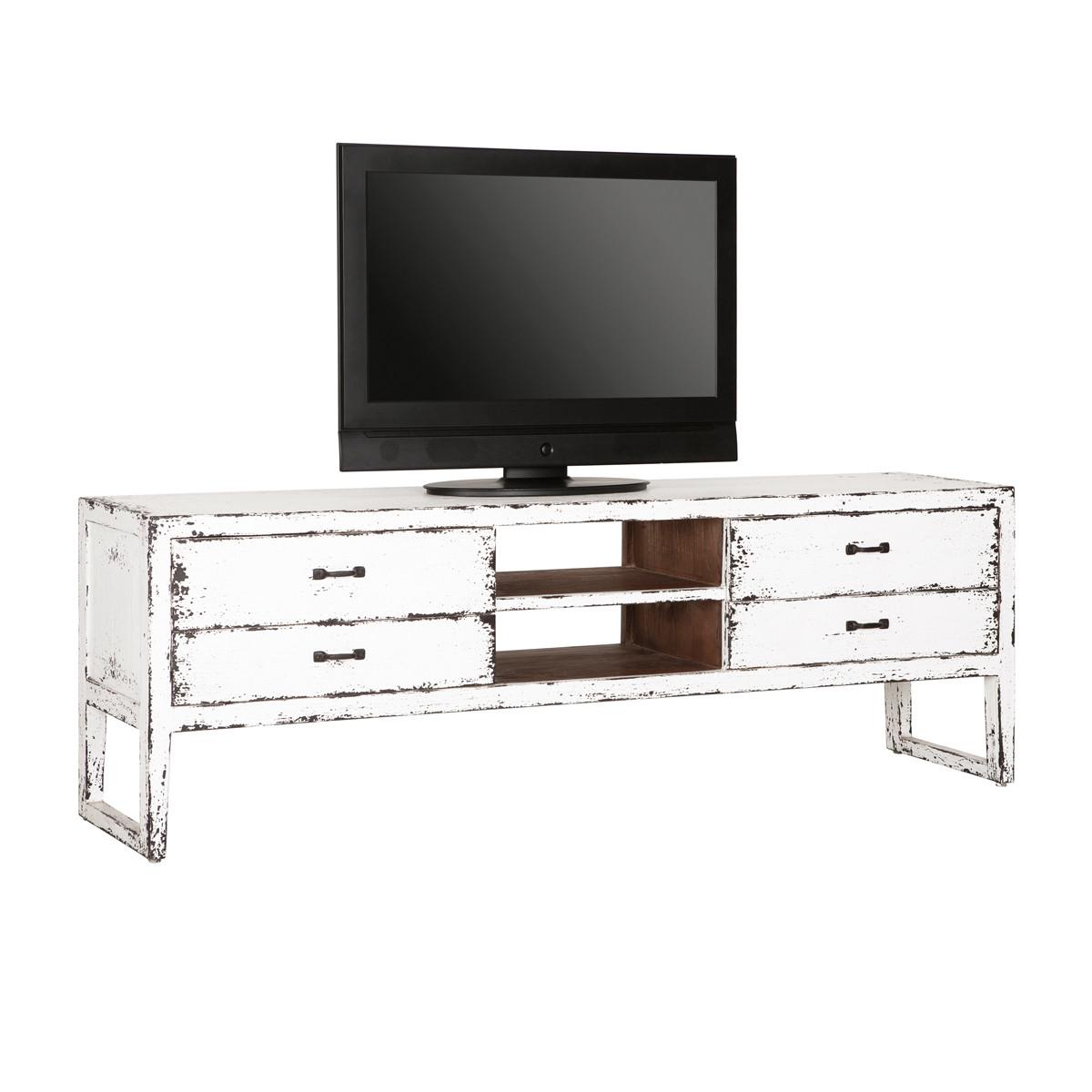 Tv Meubel White Wash.Must Living Ghost Tv Meubel White Wash Ml 410303 Lumz