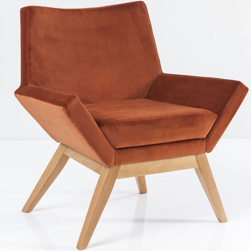 oranje fauteuil kare design pixie. Black Bedroom Furniture Sets. Home Design Ideas