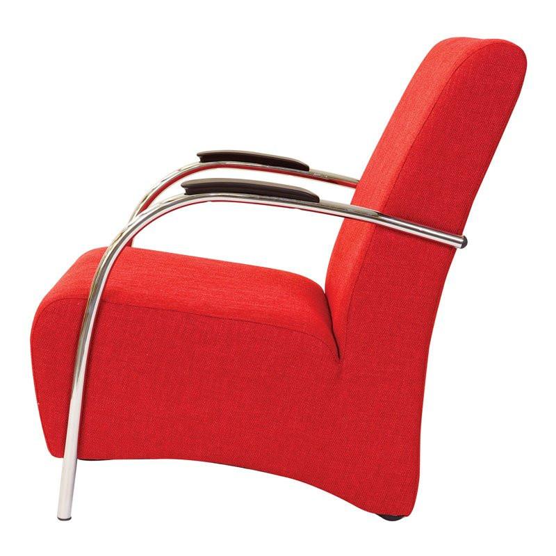 Rode fauteuil modern ostera bestellen - Moderne fauteuil ...