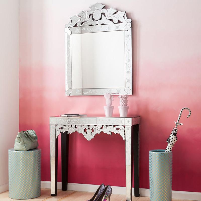 spiegel kaptafel kare design princess. Black Bedroom Furniture Sets. Home Design Ideas