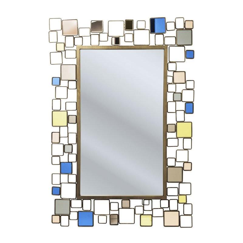 Spiegel gekleurd glas brick deluxe for Spiegel glas