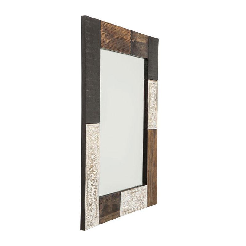 spiegel van mangohout kare design finca. Black Bedroom Furniture Sets. Home Design Ideas