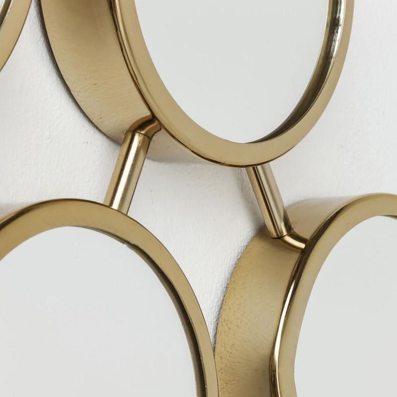 stalen spiegel kare design geometrix. Black Bedroom Furniture Sets. Home Design Ideas