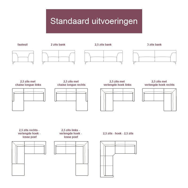 2 Hoek 2 Bank.Moderne Bank Blokhus Bestellen Bij Onlinedesignmeubel
