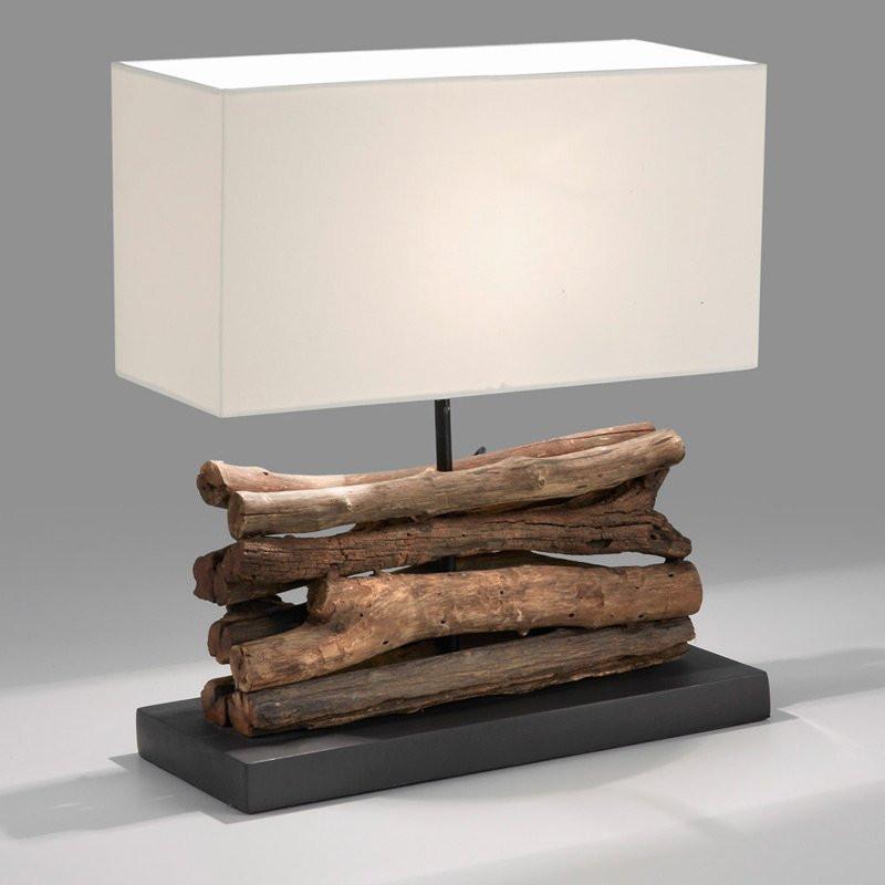tafellamp laforma sahai hout kopen. Black Bedroom Furniture Sets. Home Design Ideas