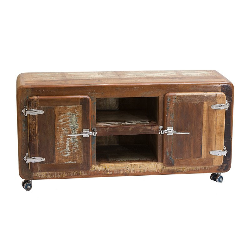 Tv meubel sloophout lavis jona for Sloophout meubels