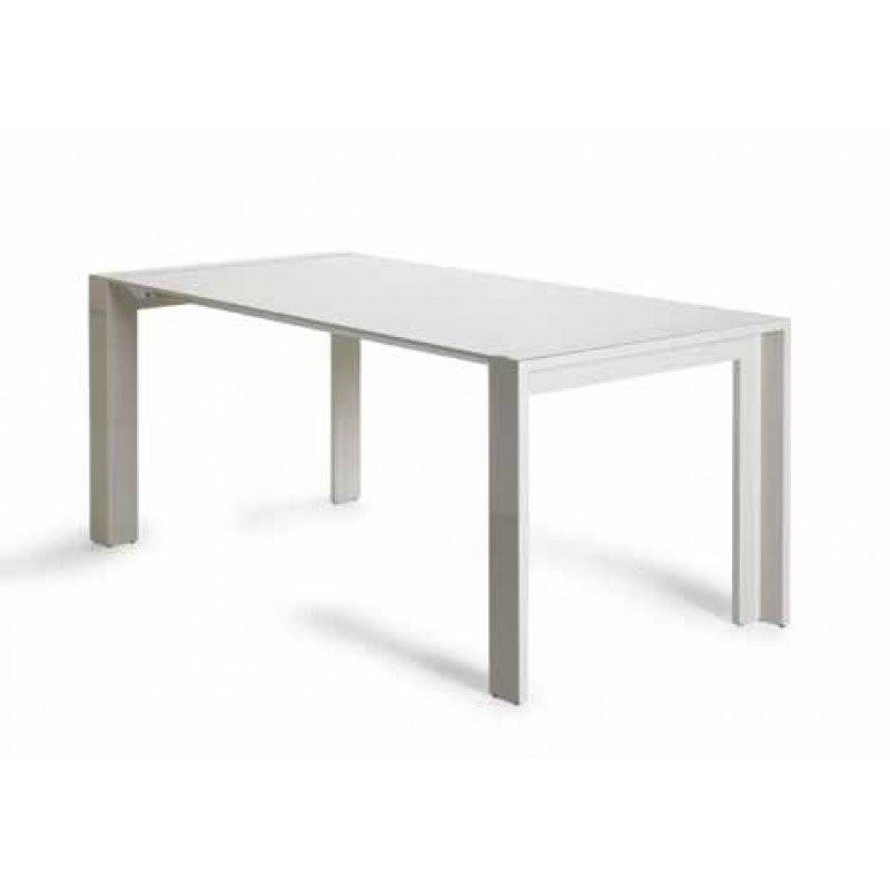 Uitschuifbare tafel hoogglans Riva Elle   Onlinedesignmeubel nl
