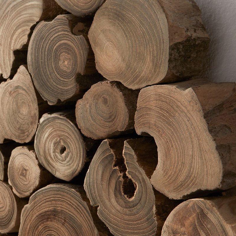 wanddecoratie hout laforma sawa onlinedesignmeubelnl