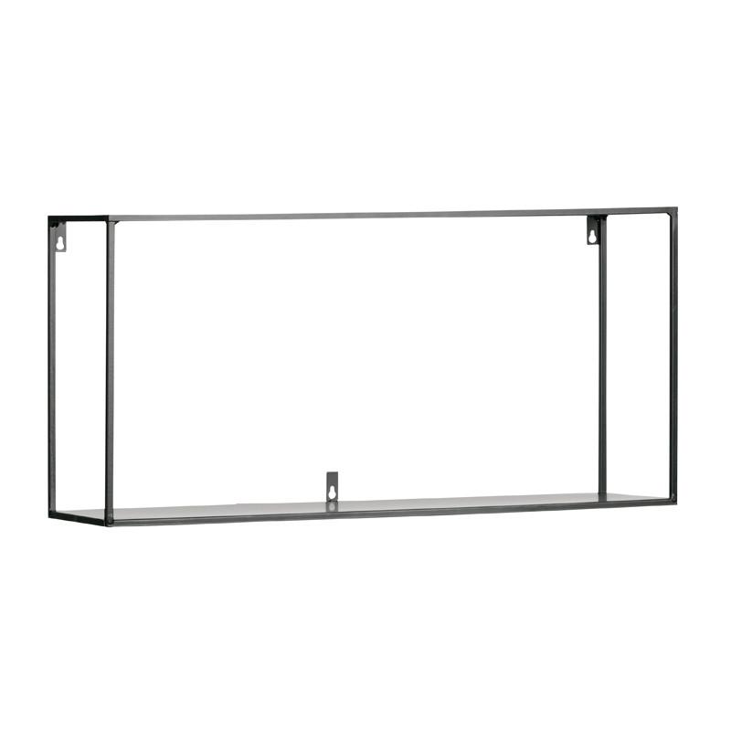 Wandplank 100 Cm.Woood Meert Metalen Wandplank 100 Cm 390919 Z Lumz