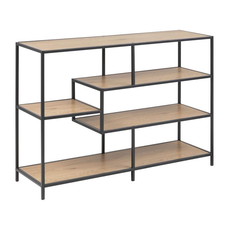 open boekenkast met stalen frame zactona bjorn