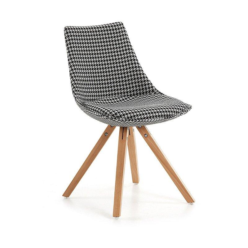 Design stoel pied-de-poule Armony