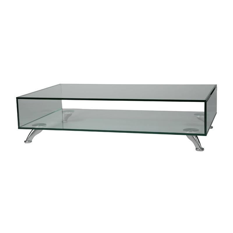 Design glazen salontafel Adele 2